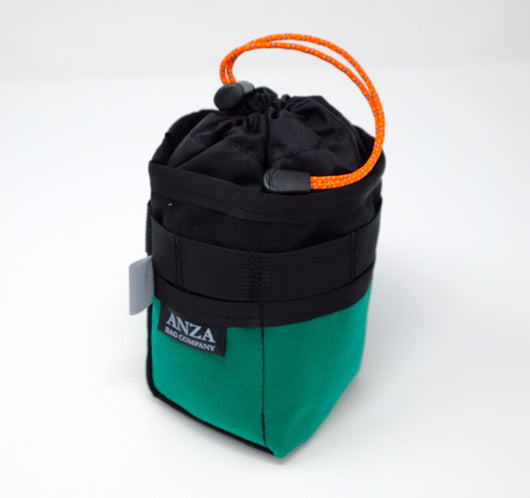 Anza Stem Bag- Teal and Black