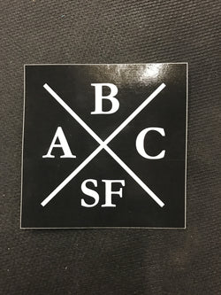 ABCSF Sticker pack