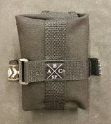 ABCSF Tool Roll - Black Cordura with Brown Southwest trim