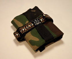 ABCSF Mountain Tool Roll - Traditional Camo with Southwest trim