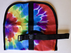 ABCSF Tool Roll - Tie Die T Shirt and Black Cordura