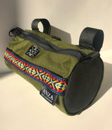 ABCSF Handlebar Bag- Olive Green and Black