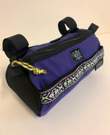 ABCSF Handlebar Bag- Purple and Black
