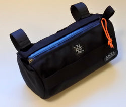 ABCSF Handlebar Bag- Black On Black