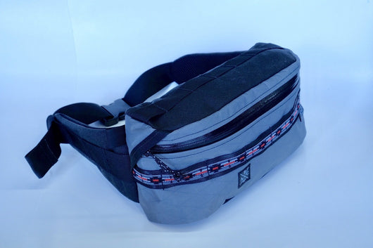 Anza Hip Pack- Grey Xpac and Black