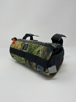 ABCSF Handlebar Bag- Real Tree X-suede with Black Xpac side pockets