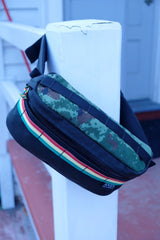 Anza Hip Pack- Black and Digi Camo