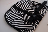 ABCSF Tool Roll - White and Black Dazzle Camo