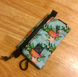 ABCSF Ride Wallet v2.0- Blue Pineapple