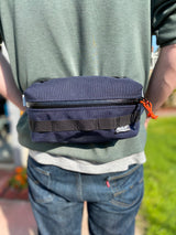 Convertible Hip Pack- Navy Blue