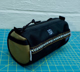 ABCSF Handlebar Bag-Black and Tan