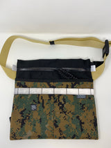 Musette Bag- Digi Camo and Black