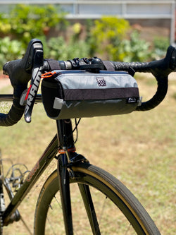 ABCSF Handlebar Bag- Grey Xpac