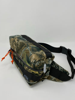 Convertible Hip Pack- Real Tree Camo XSuede