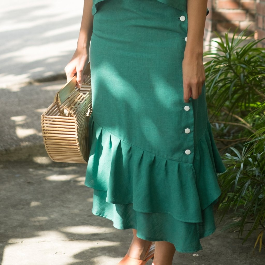 Kenya Skirt - Teal