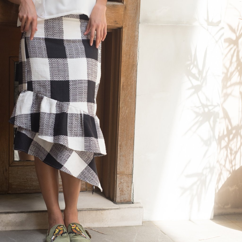Kenya Skirt - Gingham