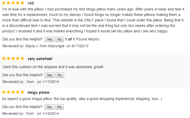 Mogu Pillow Review