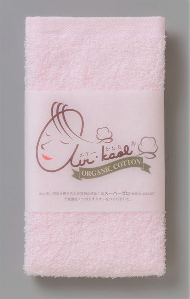 (NEW PRODUCT)Air Kaol Baby Mom Wash Towel 32 x 40cm (Pink)