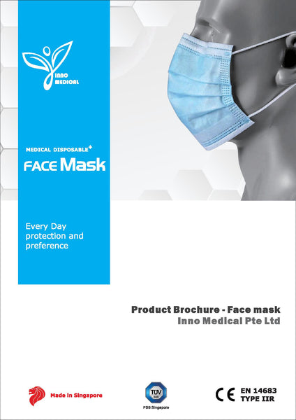 3Ply Disposable Medical Face Mask MADE IN SINGAPORE