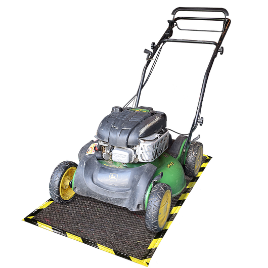 Lawn Mower Mat with Armor-Grid 32 x 60in