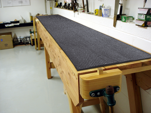 Work Bench Mat with Armor-Grid: 22 x 84in
