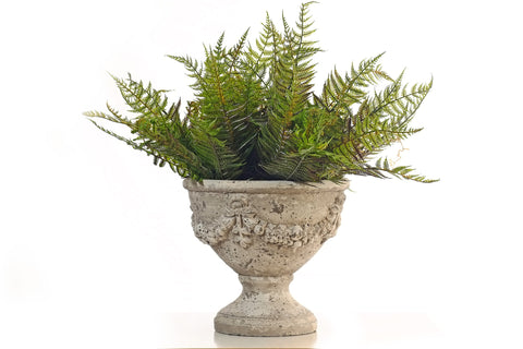 Decorative Flower Pot and faux Fern
