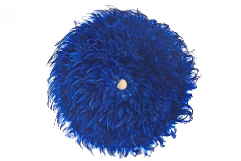 Feather Wreath - Royal Blue