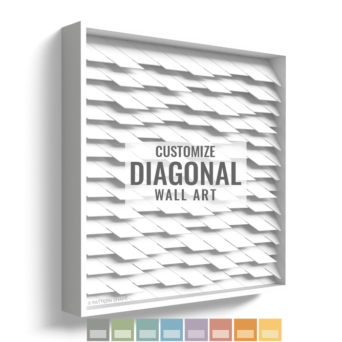 Diagonal | Framed Wall Art