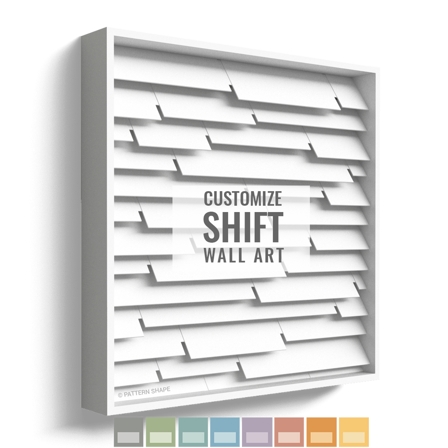 Shift | Framed Wall Art