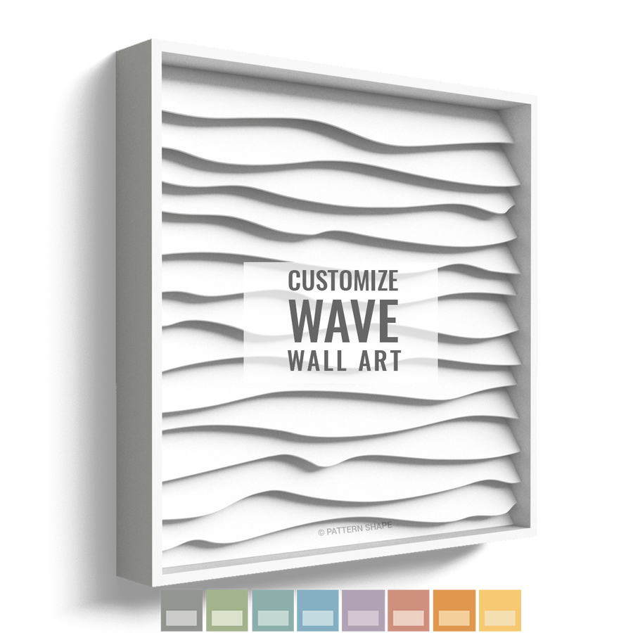 Wave | Framed Wall Art