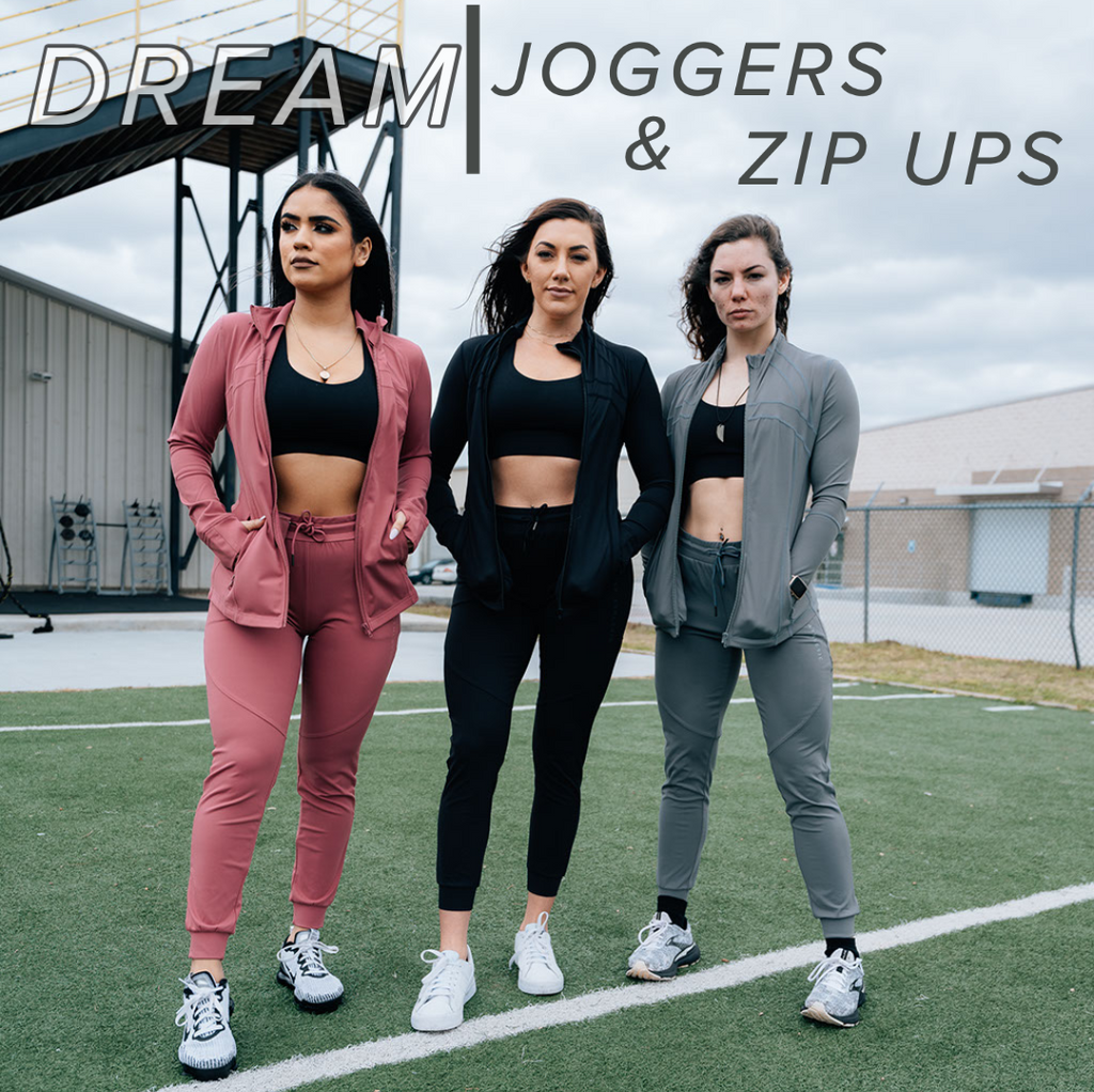 Joggers & Zip Ups Are BACK!