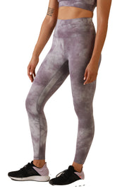 Dream Leggings: Tie Dye Lavender