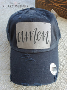 Distressed Amen Hat