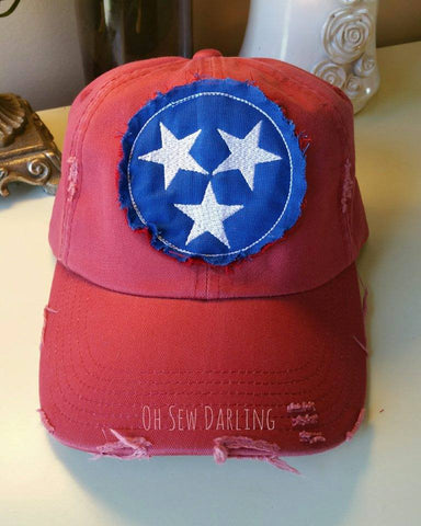 3 Star Patch Hat
