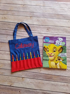Crayon Bag Set