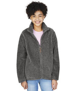 Charles River Youth Newport Fleece Full Zip Jacket