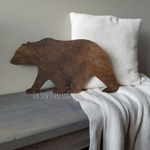 Wood Carved Bear