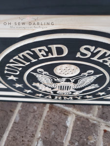 CNC American Flag - Military Add ons