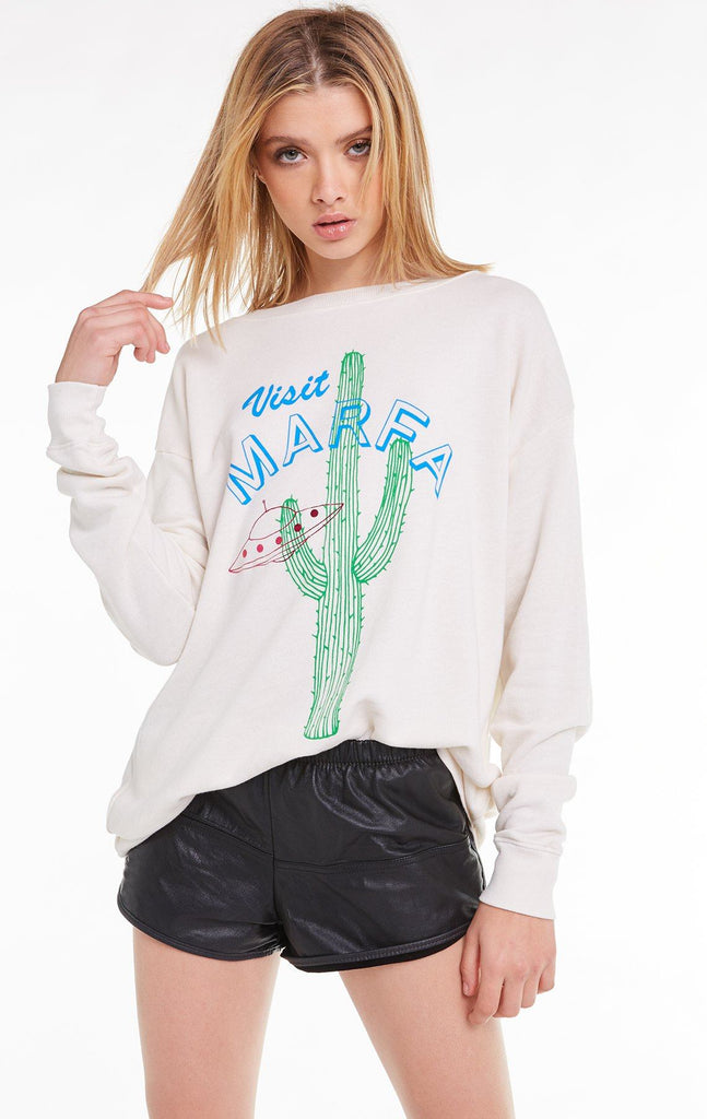 Visit Marfa Roadtrip Sweatshirt