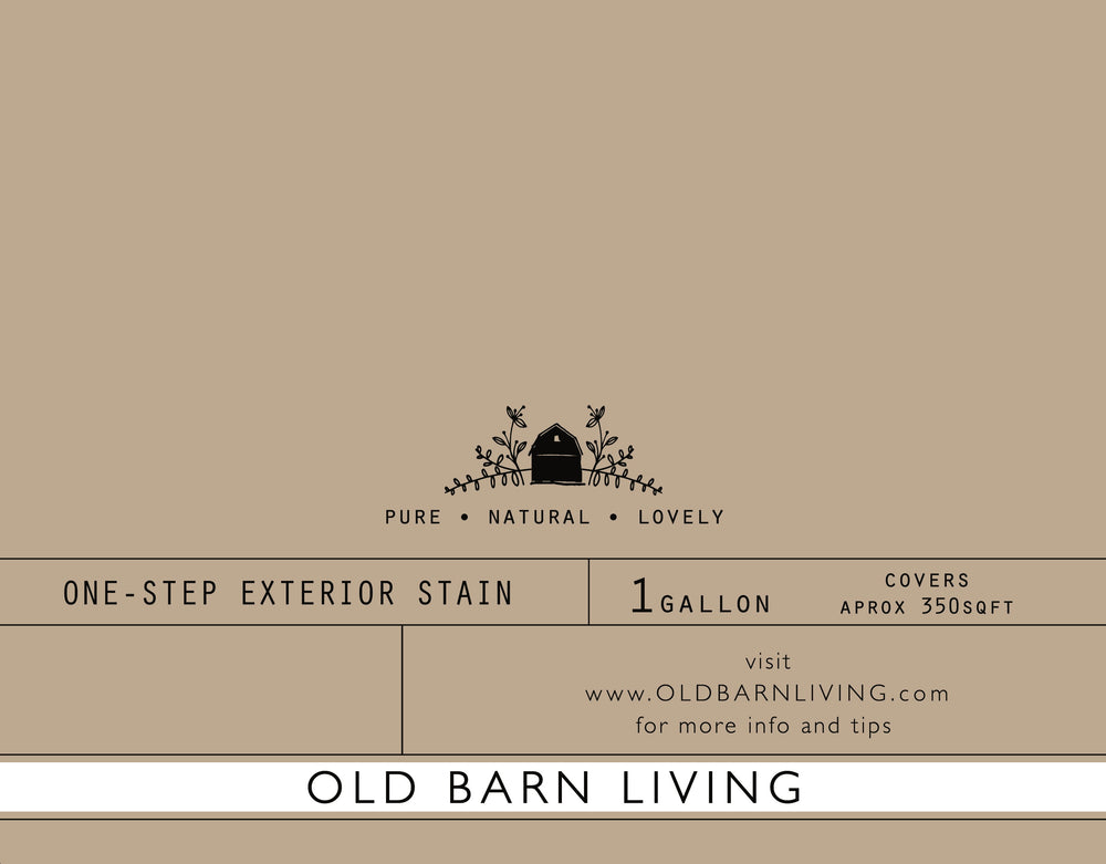 Saddle Brown Exterior One-Step Stain