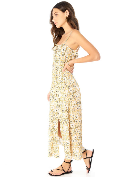 PAISLEY MAXI DRESS - CHEETAH FLORAL