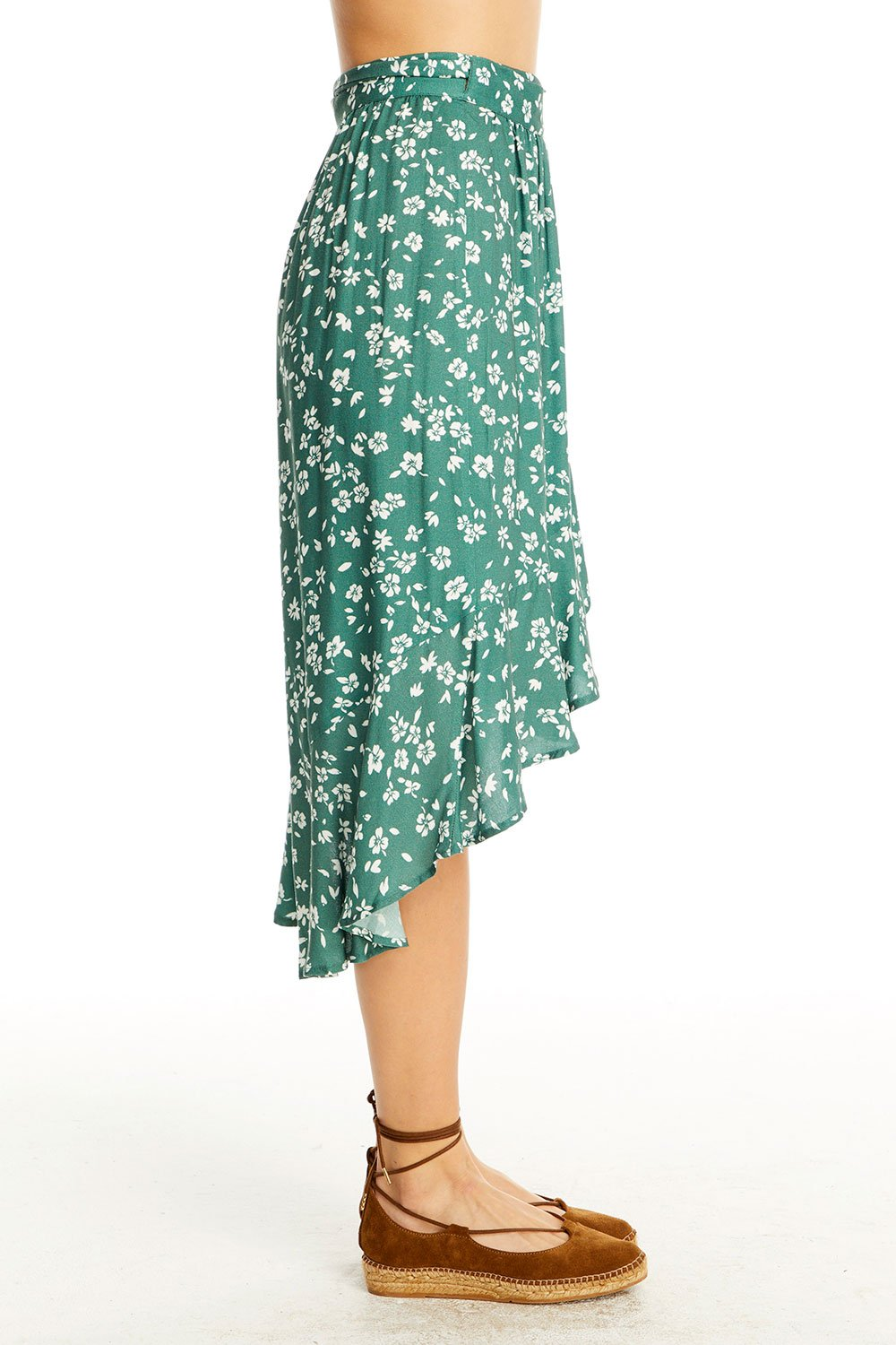 MILLIE WRAP SKIRT - LOST POPPY