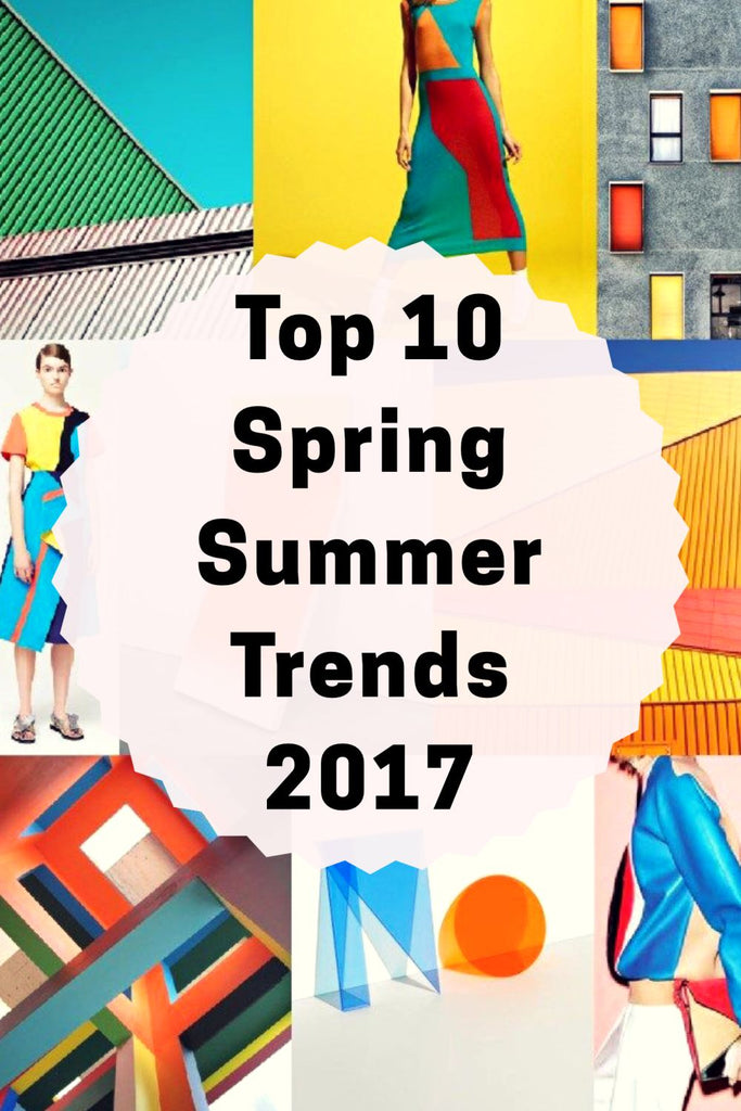 Top 10 Spring Summer Trends Sustainable Fashion 2017