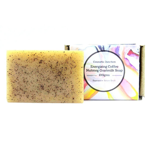 Energising Coffee Nutmeg & Goatmilk Soap