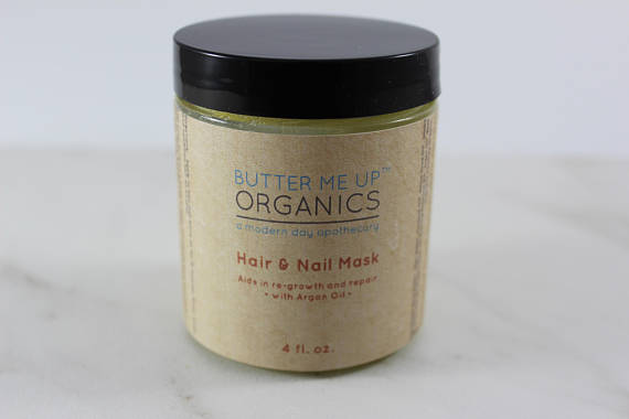 Hair & Nail Mask for long hair growth and healthy