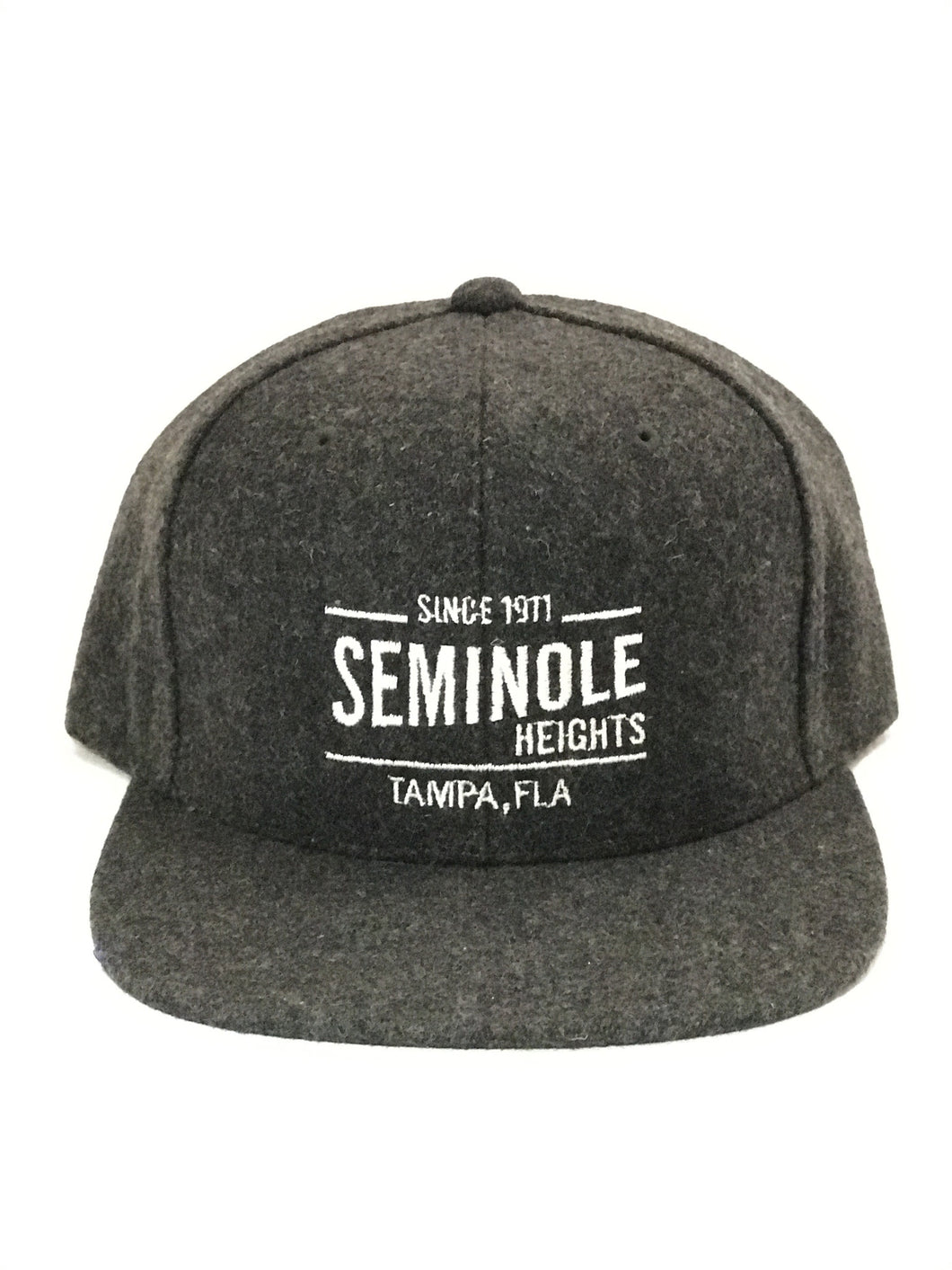 Seminole Heights Hat - Heather Charcoal