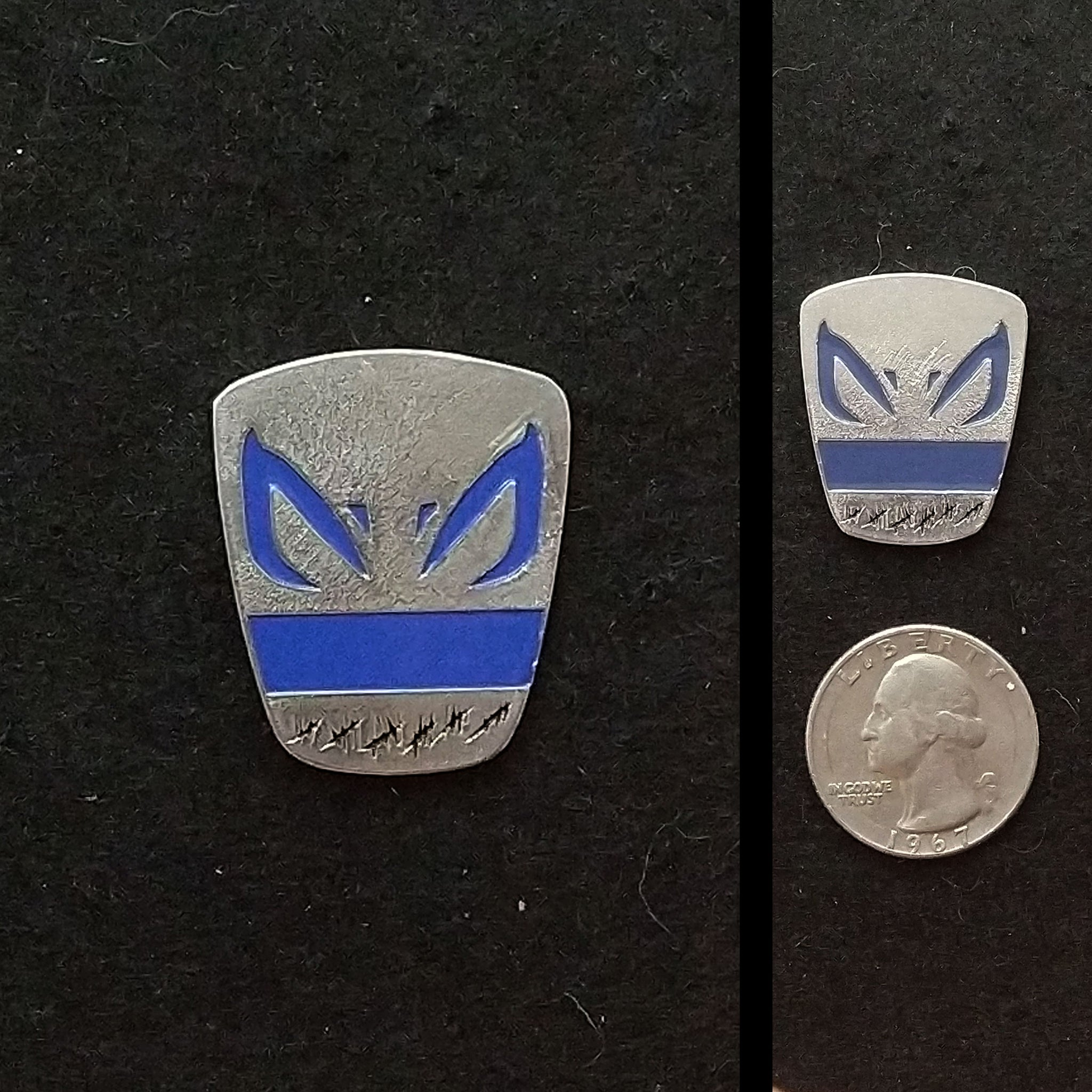 Captain Rex Pewter Lapel Pin