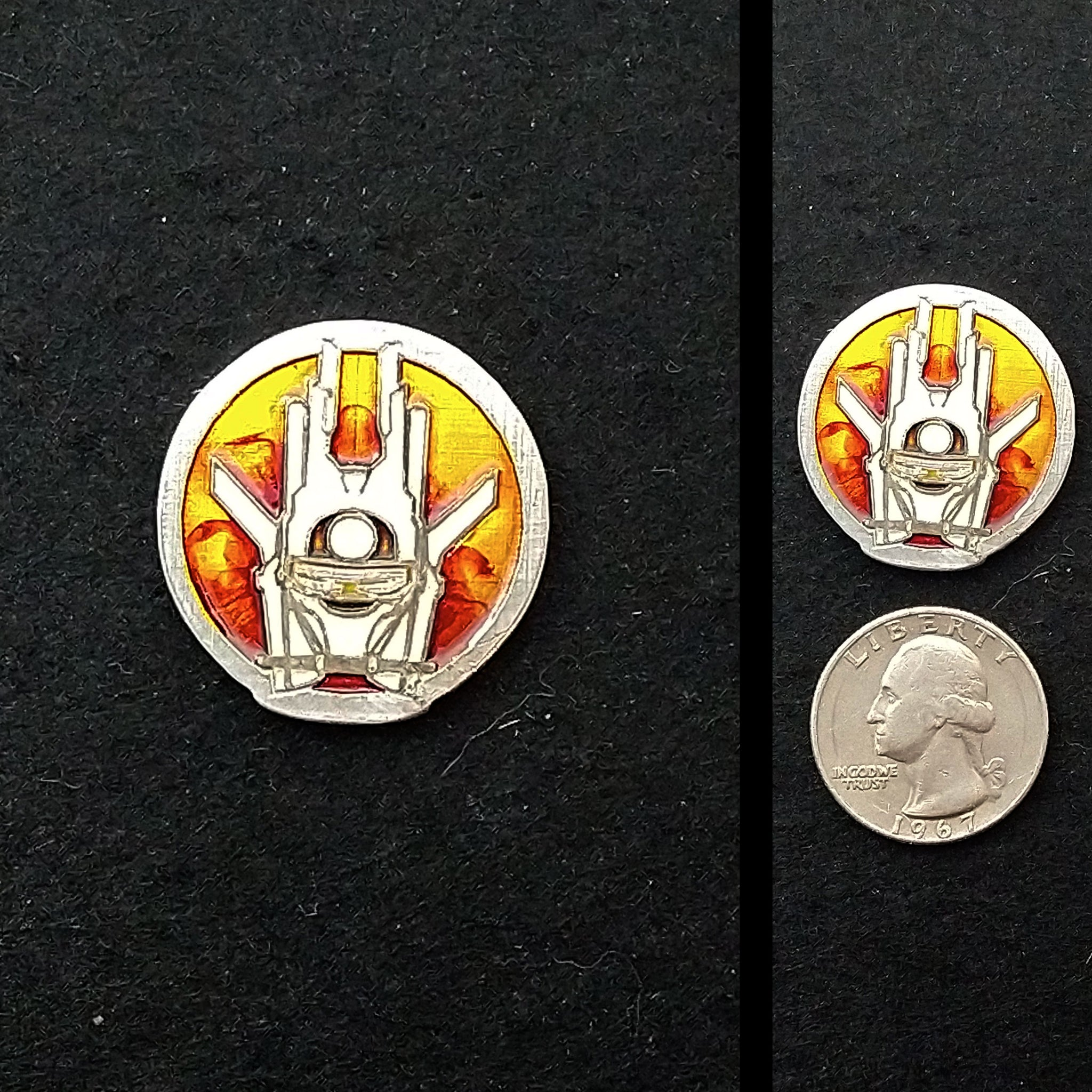 Enfys Nest Pewter Lapel Pin