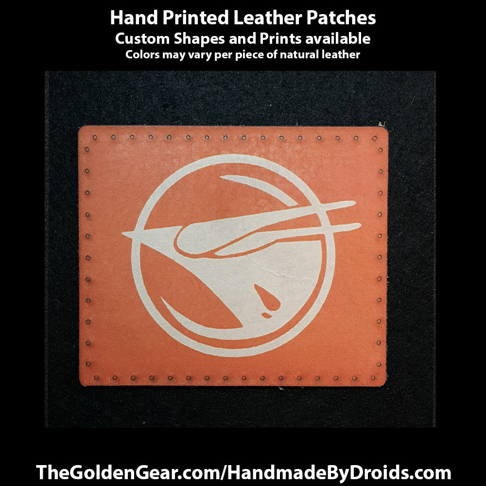 Ezra Bridger (Star Wars) 4 inch Leather Patch