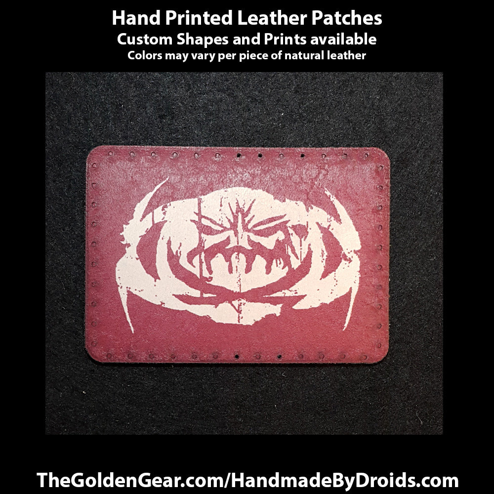 Hondo Ohnaka (Star Wars) 3.8 inch Leather Patch